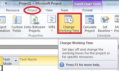 change-working-time-in-project 2010.jpg