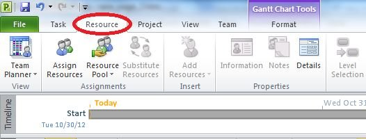 select-resource-tab-in-project 2010.jpg