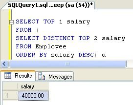 Second Highest Salary in MySQL and SQL Server - LeetCode Solution