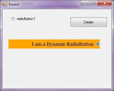 Radio Button in VB NET