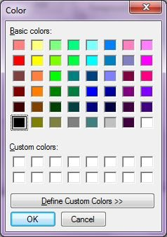 ColorDialog Box in VB NET