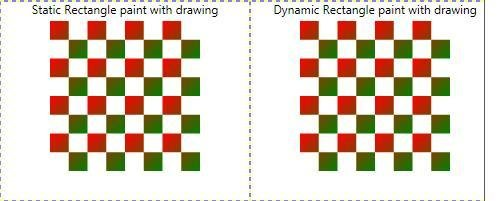 Dynamic and Static Rectangle in WPF