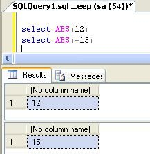 Sql Server 2008 Mathematical Functions