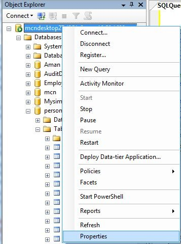 Configure The Cursor Threshold Option In SQL Server 2008